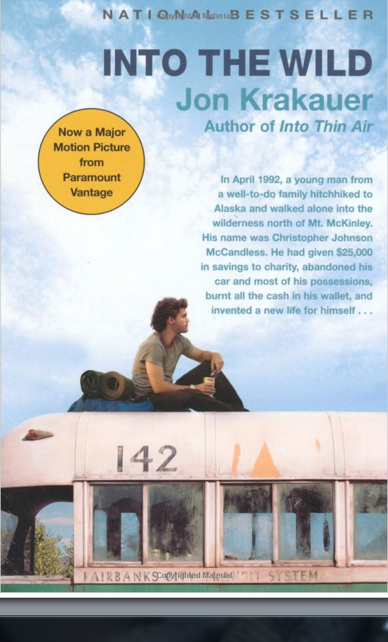 an obligation to family in into the wild by jon krakauer The bestselling author of into the wild,  like the men whose epic stories jon krakauer has told in  and he felt a strong moral obligation to join the fight.